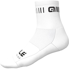 Alé Cycling Strada Socks 12cm white/black
